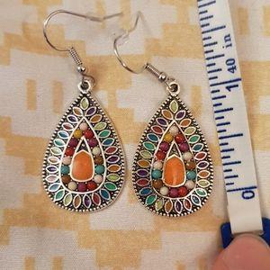 Boho Style Earrings NWOT